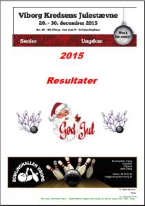 2015 JULESTAVENE RESULTATER
