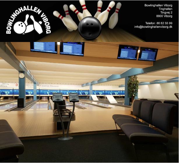 Bowlinghallen Viborg Mobile Logo
